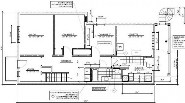 je vais dessiner un plan architectural 2d sur autocad pour 5