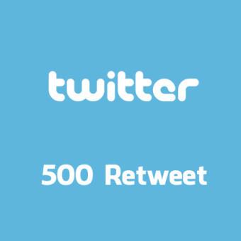 vous fournir 500 Retweets sur l'un de vos Tweet sur Twitter