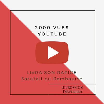 ajouter 2000 VUES à votre vidéo Youtube