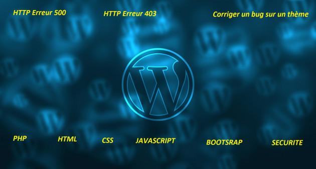 fixer les erreurs de votre site wordpress