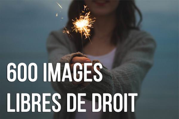 vous donner 600 images libres de droits
