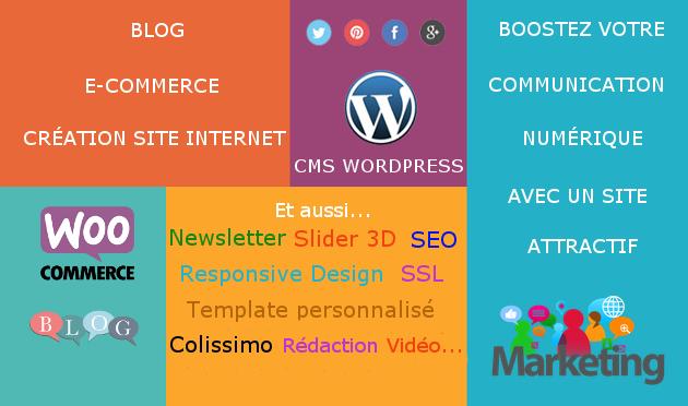 créer un site Wordpress E-commerce / Blog
