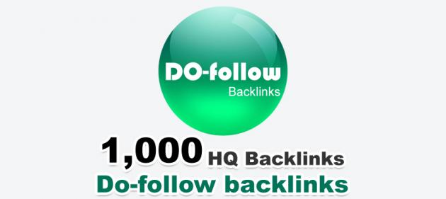 présenter 1000 backhlinks do-follow à votre site