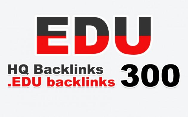 apporter 300 backlinks EDU manuels et permanents à votre site