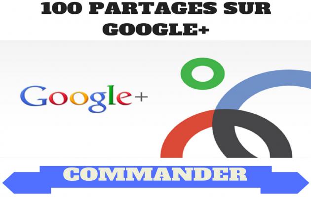 fournir 100 Google+ Partages pour Booster votre référencement