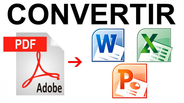 convertir PDF en WORD en gardant la mise en page et vice versa