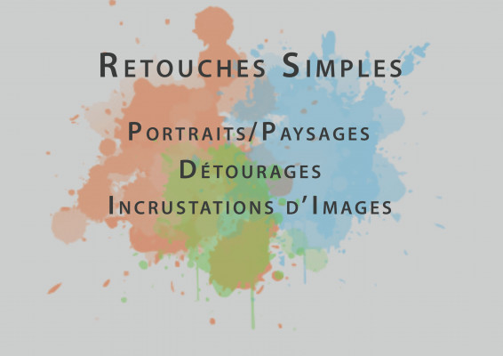 retoucher votre photo et plus