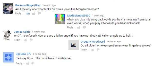 laisser un commentaire et pouce bleu sur votre video youtube