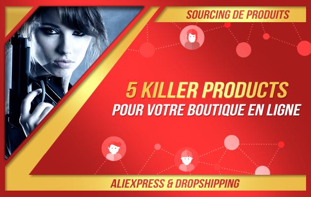 trouver 5 top produits pour votre Shopify sur Aliexpress