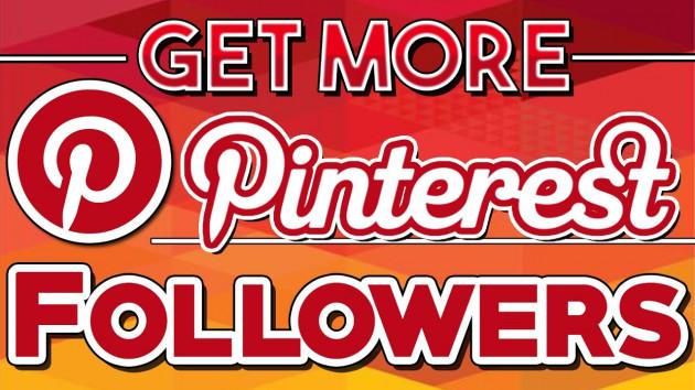 ajouter 800 abonnés à votre page Pinterest