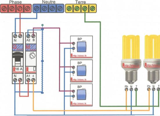 vous faire 5 schémas électrique