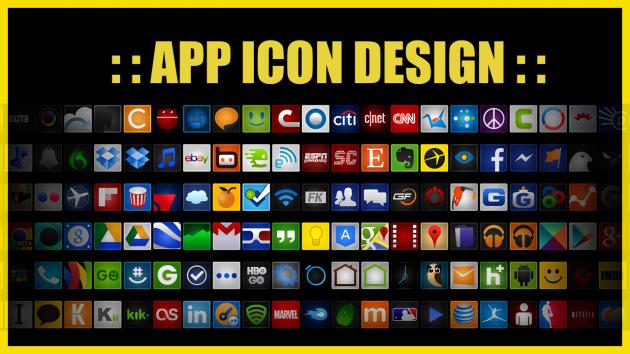réaliser l'icône de votre Application Android ou iOS en moins de 24h