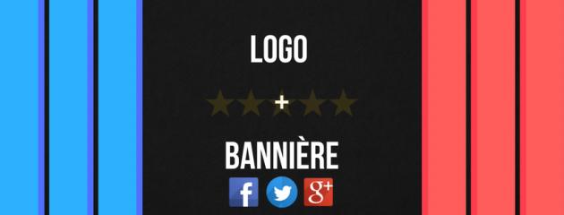 créer votre logo et votre bannière sur Facebook, Twitter ou Google+