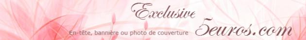 concevoir une belle en-tête, bannière ou photo de couverture