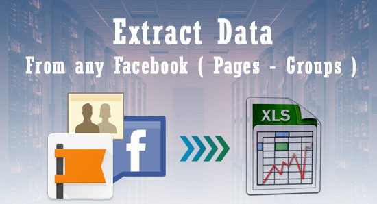 extraire data des pages Facebook
