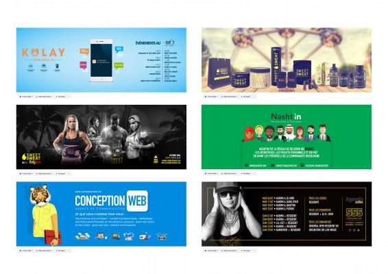 créer une bannière pro pour Youtube, Facebook, Twitter