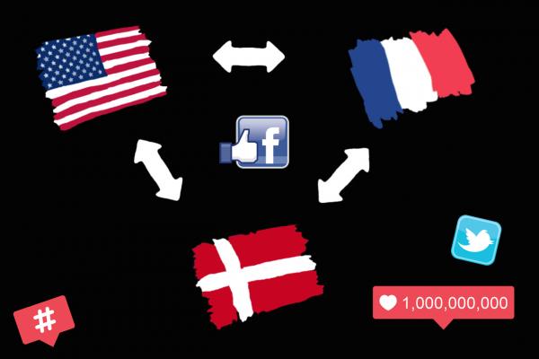 traduire vos publications sur Facebook, Twitter et Instagram en Anglais