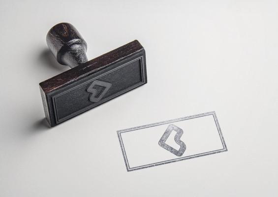 intégrer votre logo sur un tampon encreur