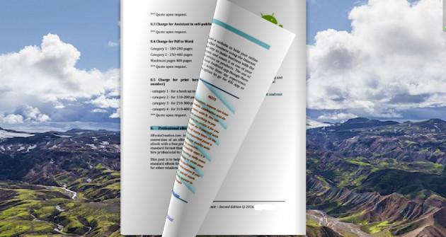 transformer votre Pdf, Word Doc en une magazine interactif 3D Flipbook