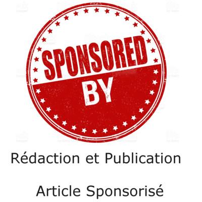 rédiger et publier un article sponsorisé