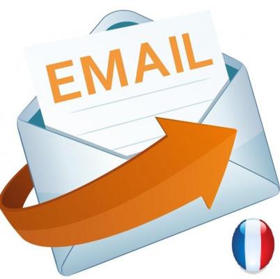 vous fournir 50 000 adresses email français validé de 2016