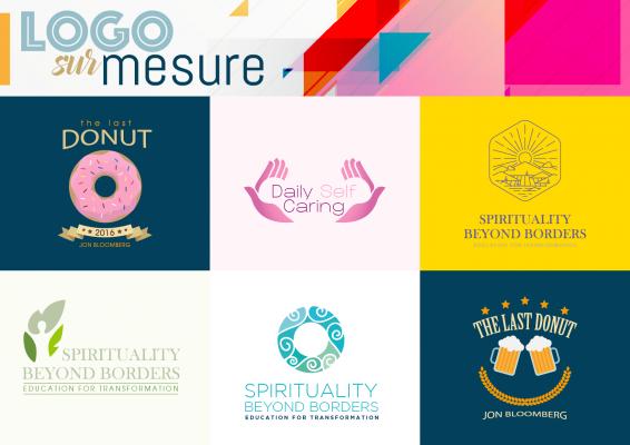 créer pour vous un logo unique & pro