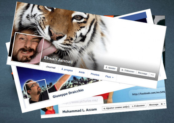 créer une photo de profil et une couverture Facebook