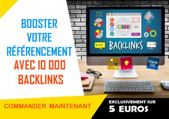booster votre référencement avec 10 000 backlinks