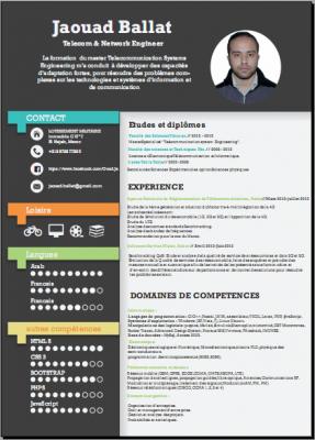 crée un CV professional