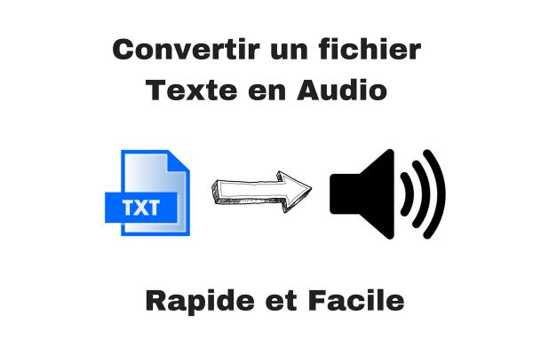 convertir un fichier texte en fichier audio