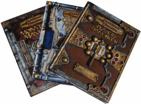 vous envoyer 32 livres de Donjons et Dragons 3.5 en français