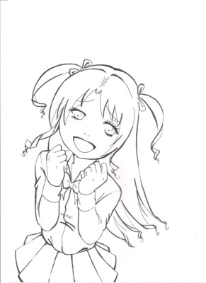 Je vais vous dessiner votre oc personnage en manga pour 5 - Modele dessin personnage ...