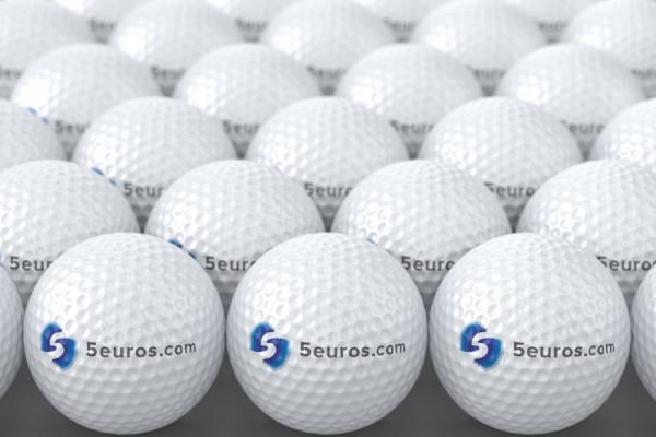 ajouter votre logo sur ces balles de golf