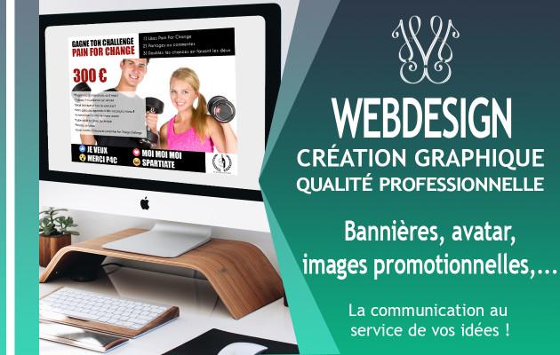 créer le design de votre communication web
