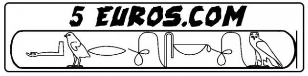 écrire en Hiéroglyphes égytiens
