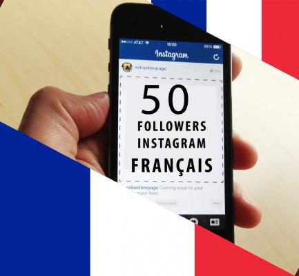 vous fournir 25 followers INSTAGRAM français