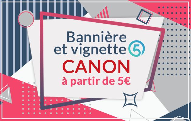 rendre votre Profil 5euros CANON ♥