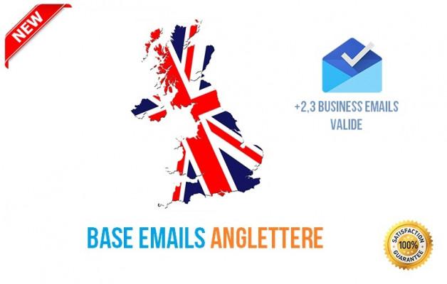 vous Fournir +1 Million Emails HQ des Clients de l' Angleterre
