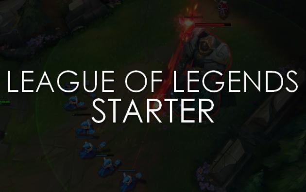 commencer votre compte League of Legends