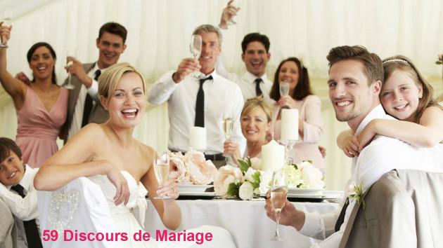 offrir 59 Discours de Mariage