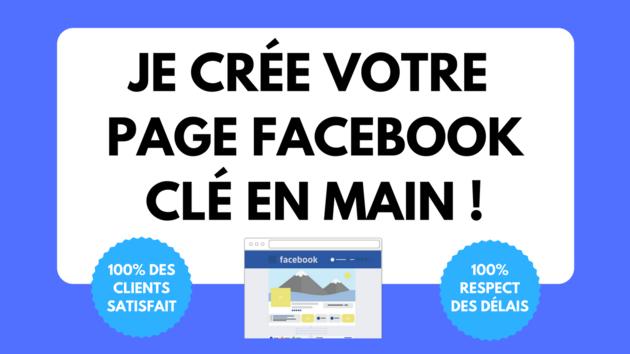 créer votre page Facebook Pro clé en main