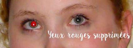 supprimer les yeux rouges de 7 photos