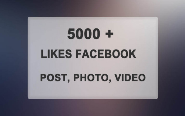 vous amener 5000 personnes qui vont LIKER votre statut, photo ou video