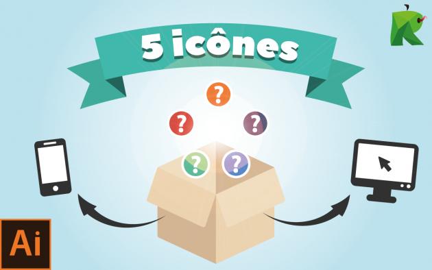 créer 5 icônes pour votre site internet
