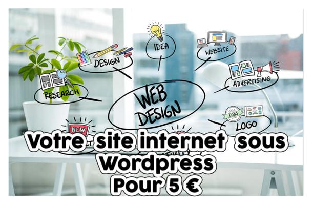 installer et créer votre site vitrine, votre blog ou e-commerce sous WordPress