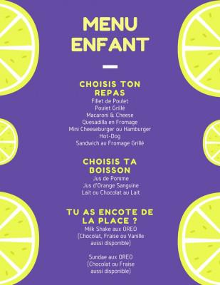 mettre en page le menu de votre restaurant