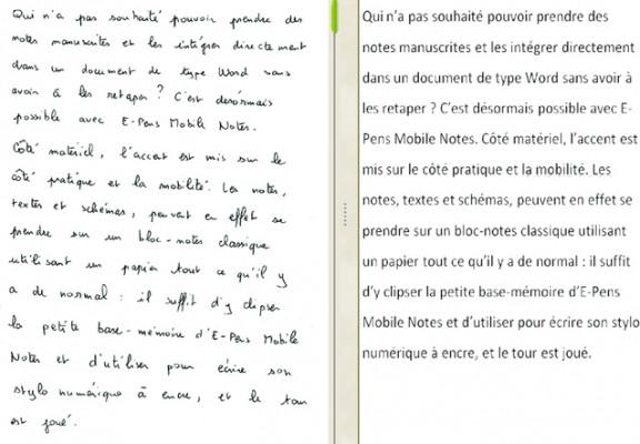 transférer une image de texte de 5 pages en un fichier doc