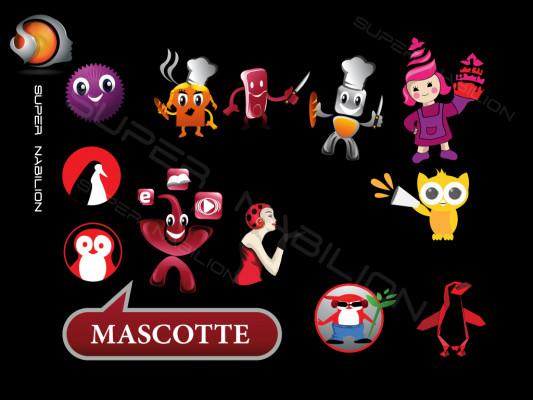 créer une mascotte