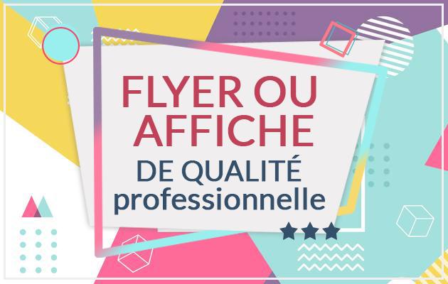 créer un FLYER de qualité Professionnelle