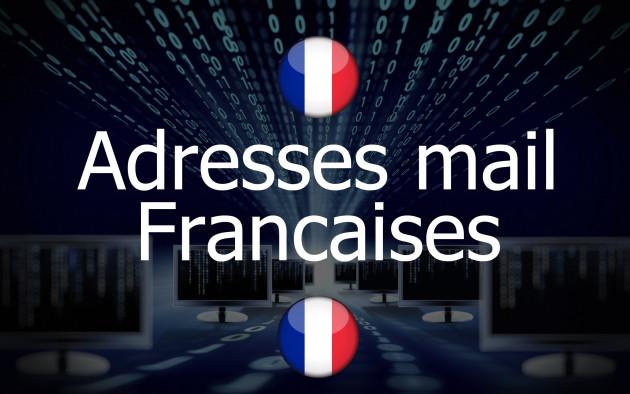vous donner 45000 adresses mail Françaises de 2018